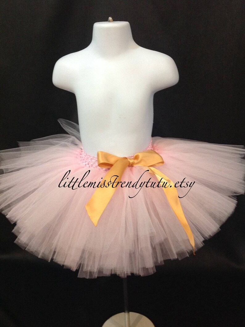 07000f1b2 Light Pink Tutu Skirt Pink Tutu Skirt Girls Pink Tutu | Etsy