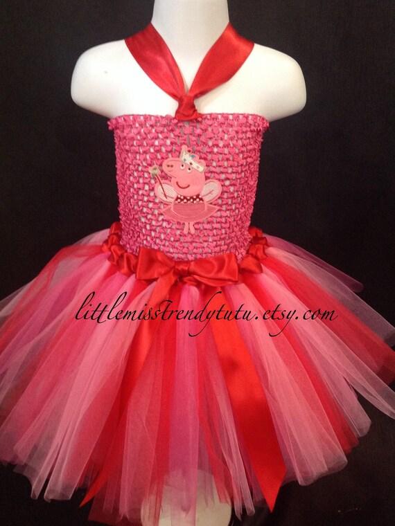 ce7fca270 Vestido de Peppa Pig, Peppa traje del tutú, Peppa Pig Peppa Pig chicas de  traje, el vestido, las muchachas Peppa Pig cumpleaños tutú, traje de ...