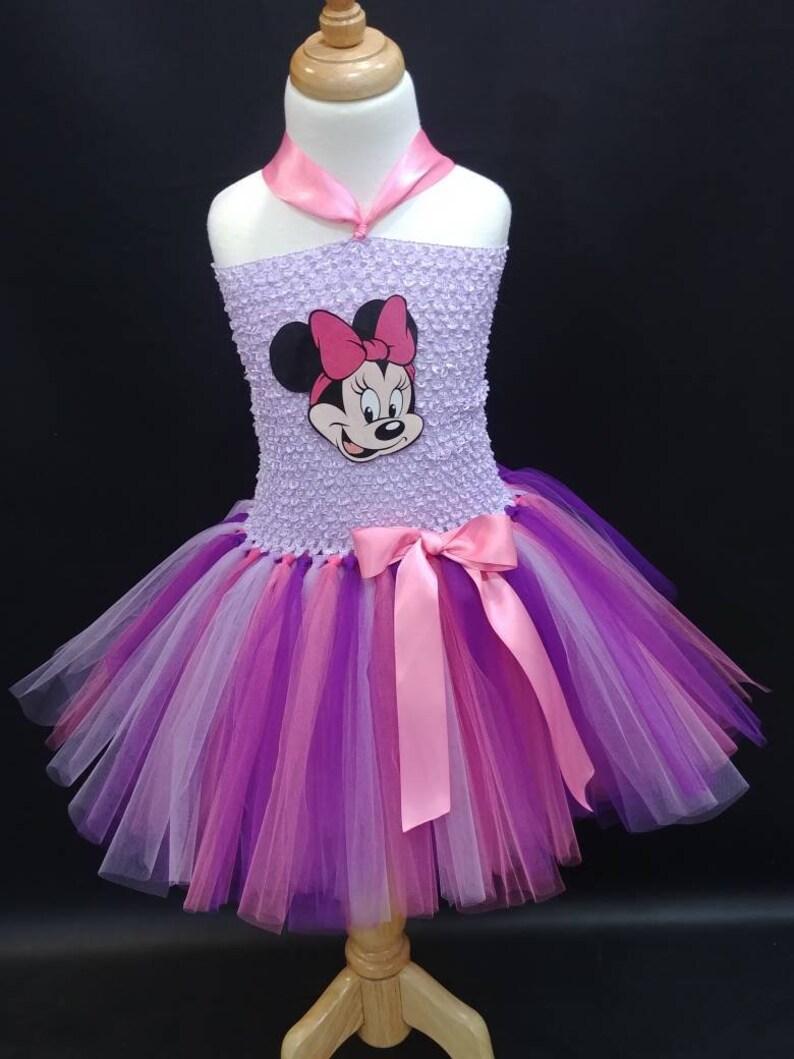 9f5a9b557 Minnie Mouse Tutu Dress Minnie Mouse Costume Pink Minnie