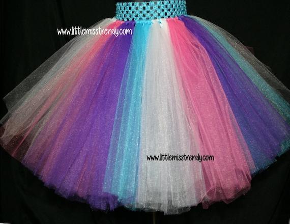 fa5e33eb0 Rainbow Tutu Skirt Unicorn Tutu Skirt Girls Tutu Toddler   Etsy