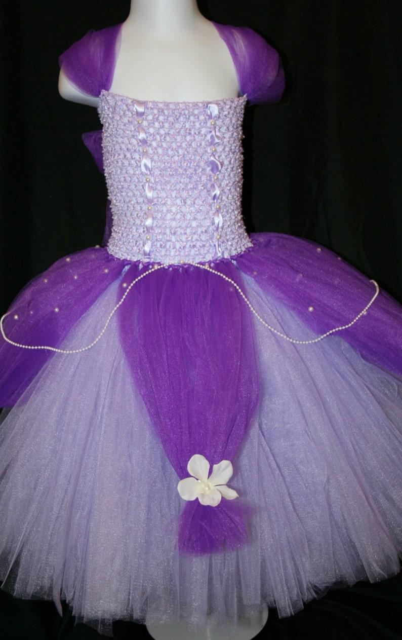 Princess Tutu Dress Sofia The first tutu dress Princess Sofia The First Tutu Dress