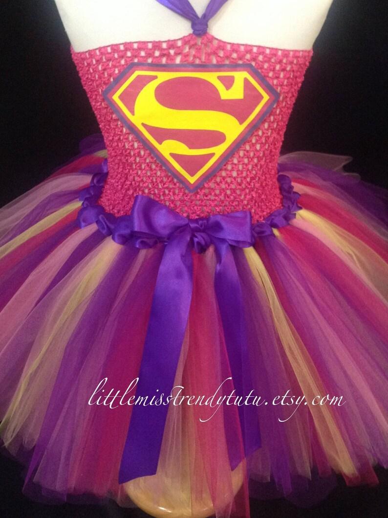 777049aef Superman Tutu vestido, traje del tutú del Super chica, Super héroe vestido,  Super Hero traje niñas, Chicas Super hombre Tutu vestido Tutu vestido ...
