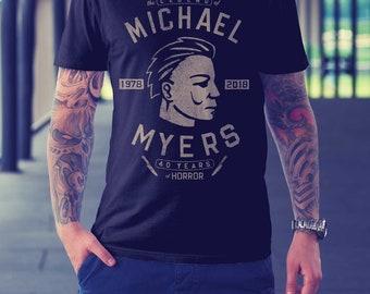 Michael Myers (Halloween 1978) - Unisex/Mens - sports/motorcycle style design, John Carpenter Horror 2XL 3XL 4XL