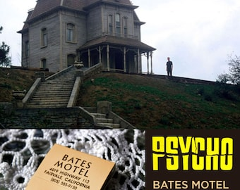 Bates Motel (Psycho 2) Match Book - Movie Screen Accurate Prop Replica, Hitchcock, Norman Bates