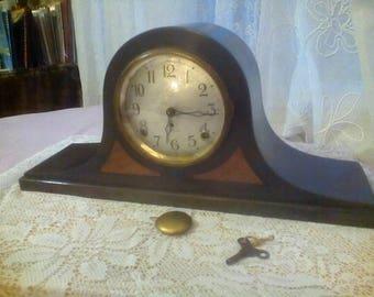Seth Thomas camel back mantel clock, # 89 movement.