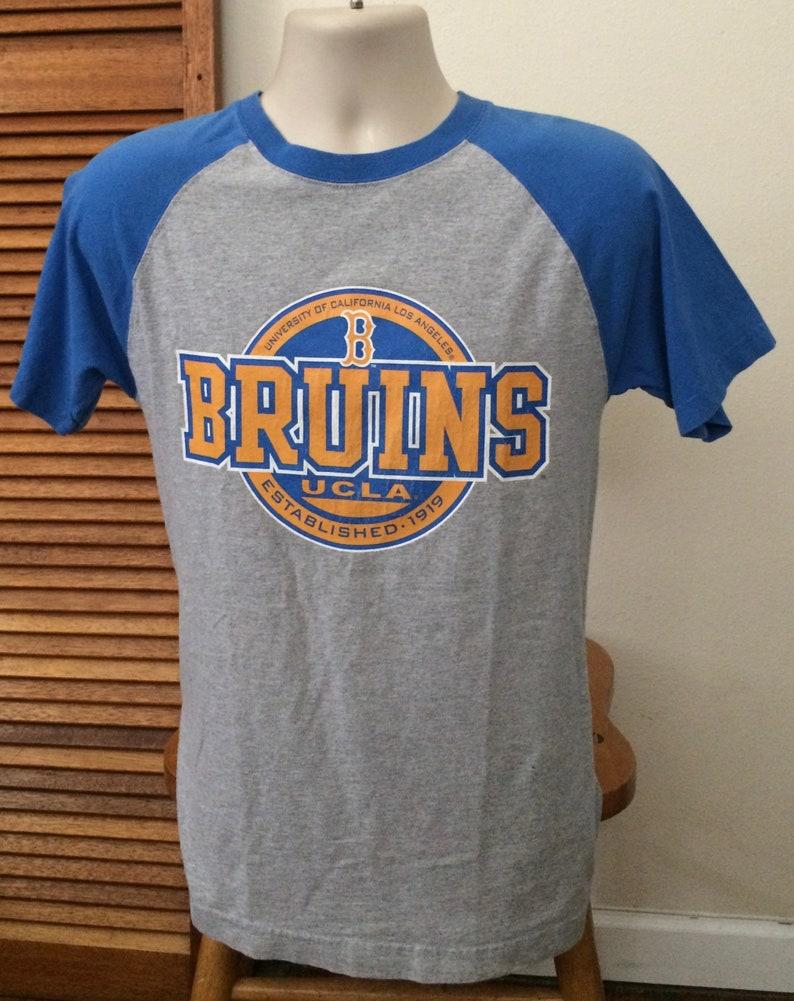 wholesale dealer 9cffb f9886 Vintage UCLA Raglan Short Sleeve UCLA Bruins T shirt Adult Medium T shirts  Vintage Basketball Shirts and Jerseys Vintage Football