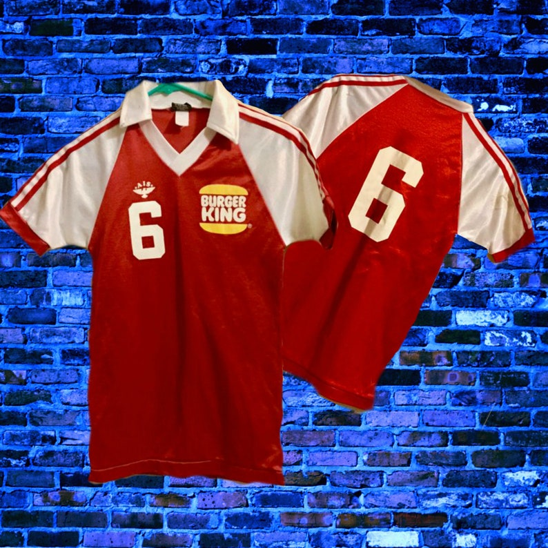 9b0df7a61e6ac Vintage Burger King Memorabilia Collectibles Uniforms Jerseys | Etsy
