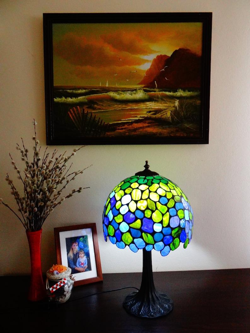 Style Bleu 12 Lampe Et Tiffany Bureau De Vert uJ3lKTc1F