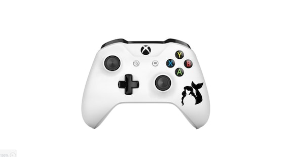 Xbox contrôleur un autocollant, manette Xbox sticker, sticker Xbox, autocollant Xbox, Xbox Decor, sticker sirène, sirène autocollant, manette Xbox