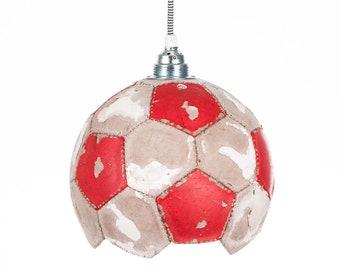 Football Lamp Upcycling