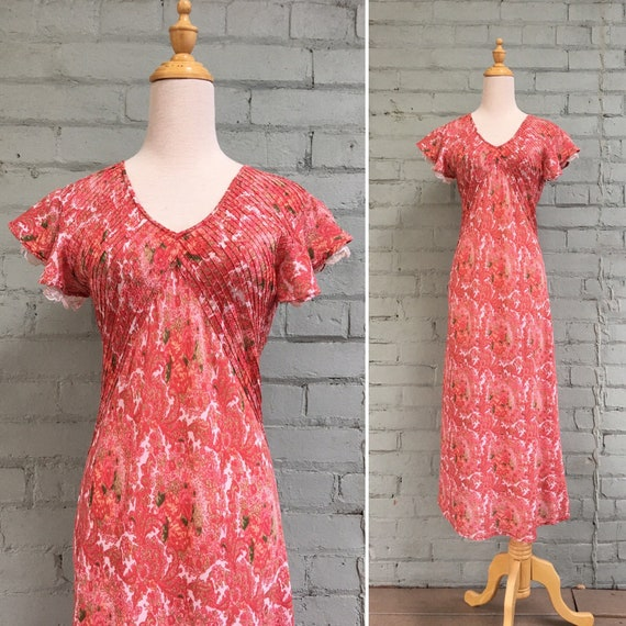 vintage 80s April Cornell cottagecore dress / 1980