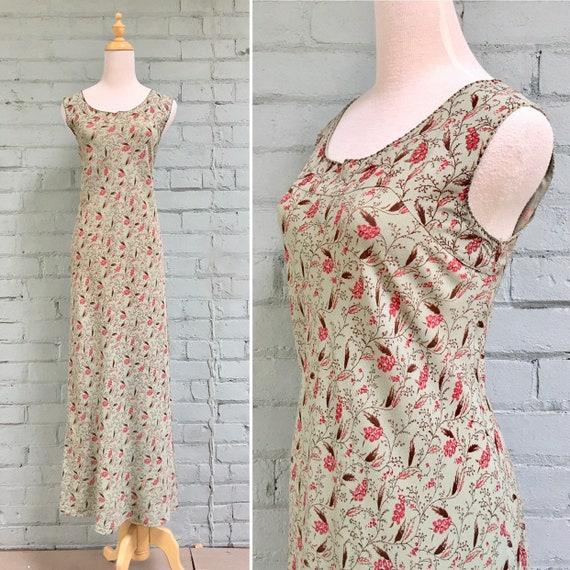 vintage 1980s APRIL CORNELL floral dress / 80s pra