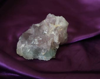 Lilac and Green Fluorite