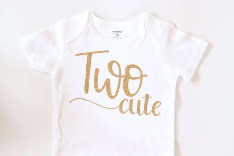 Baby Girl Clothes Birthday Shirt Second