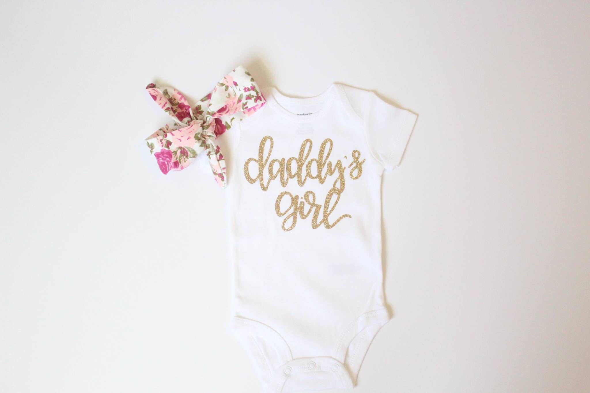 fa73184ab Daddy's girl outfit daddy's girl Newborn Coming home | Etsy