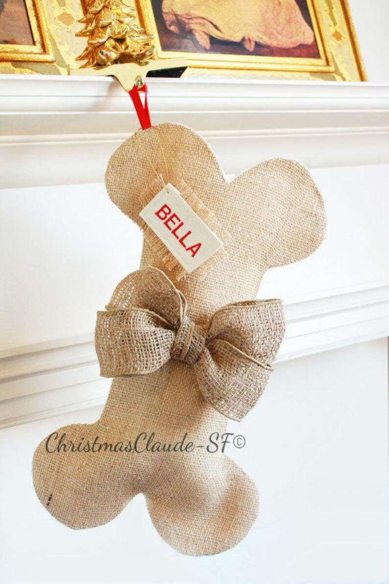 Personalized Christmas Stocking Family Christmas Stockings Ready to ship CHRISTMAS STOCKING burlap Stocking,