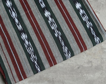 Guatemalan Ikat Fabric (#22) - Ethnic Fabric (THICK) - All Cotton - sold by the yard - Suitable fabric for upholstery