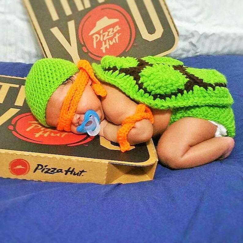 Ninja Turtle Newborn Outfit