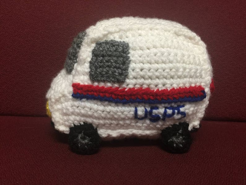 b442826112 USPS Truck mail truck mailman appreciation gift plush
