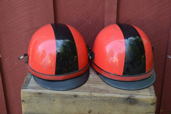Vepo Italy Red Half Shell Youth Motorcycle Helmet With Black Etsy