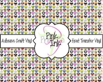 Disney Inspired Craft Vinyl and Heat Transfer Vinyl Pattern Disney 39