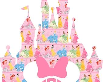 Disney Monogram Heat Transfer, Heat Transfer Decal, Disney Iron On Decal in Disney Patterns 1-34
