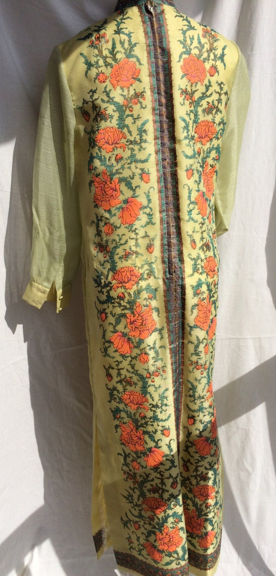 Alfred Shaheen 1970s Handprinted Tunic - image 3