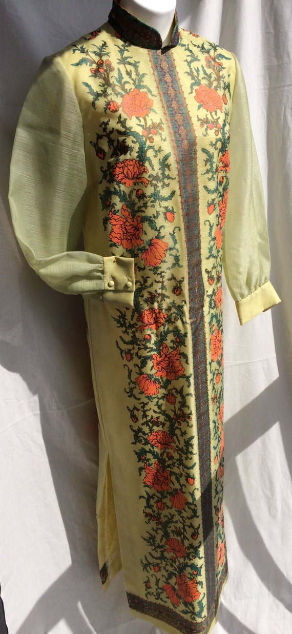 Alfred Shaheen 1970s Handprinted Tunic