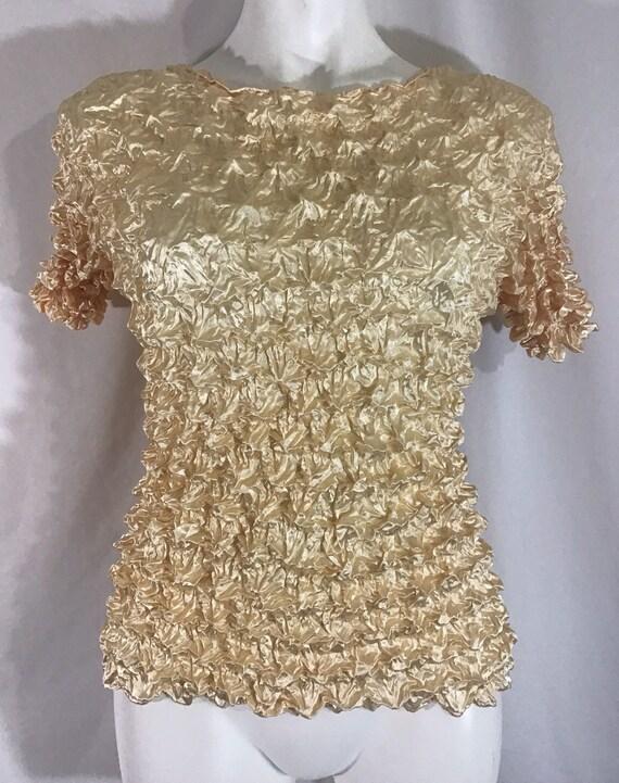 Vintage 90's Popcorn Shirt Short Sleeve Women's Iv