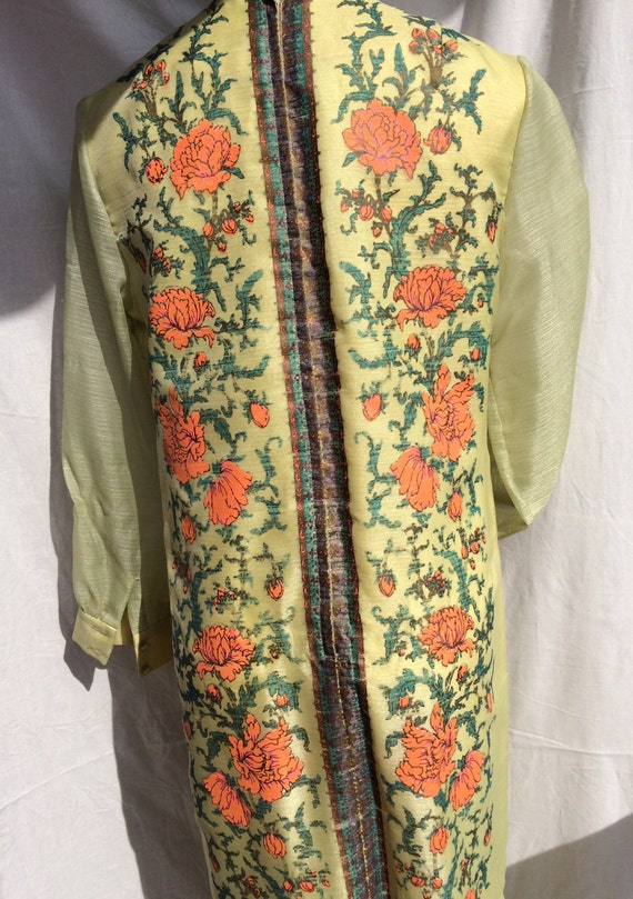 Alfred Shaheen 1970s Handprinted Tunic - image 4