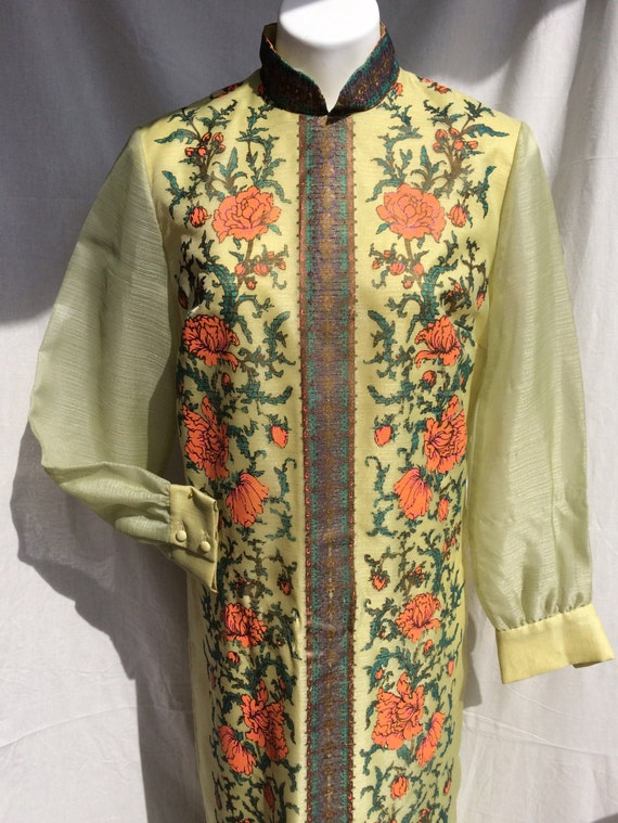 Alfred Shaheen 1970s Handprinted Tunic - image 2