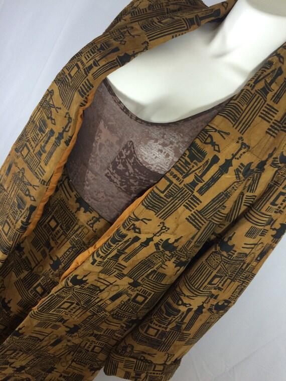 Plus Size Nubuck Leather Exotic  2 Piece Ensemble