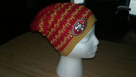 8027107c890 San Francisco 49ers Slouchy Beanie with Decal