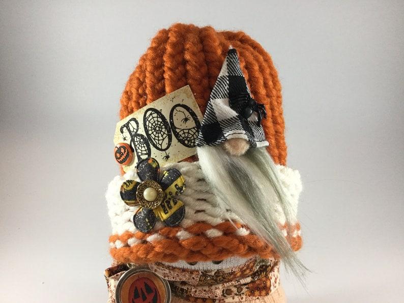 pumpkin \u201cSnow Friends\u201d fall decor Halloween Handmade Snowman