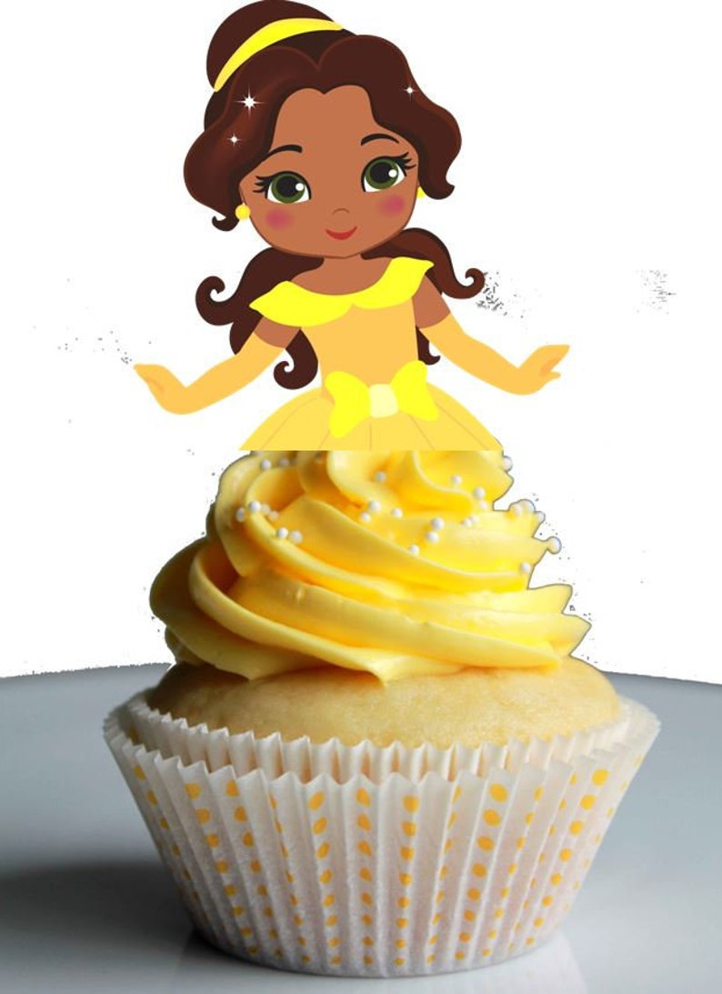 Your Cupcake Is Her Dress African American Princess