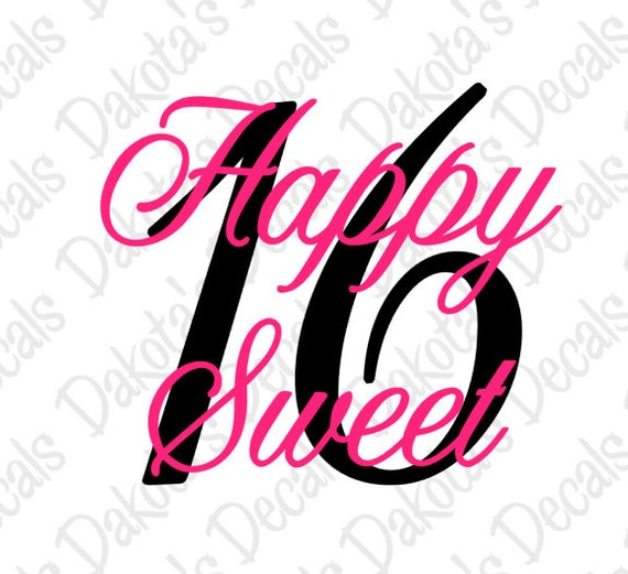 happy sweet 16 svg png for download etsy rh etsy com sweet 16 logo cliparts sweet 16 logo graphics