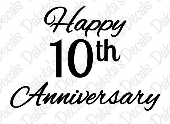10 years logo, 10 Years Anniversary Badge transparent background PNG clipart  | HiClipart