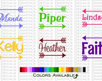Personalized Name Decal - 4""