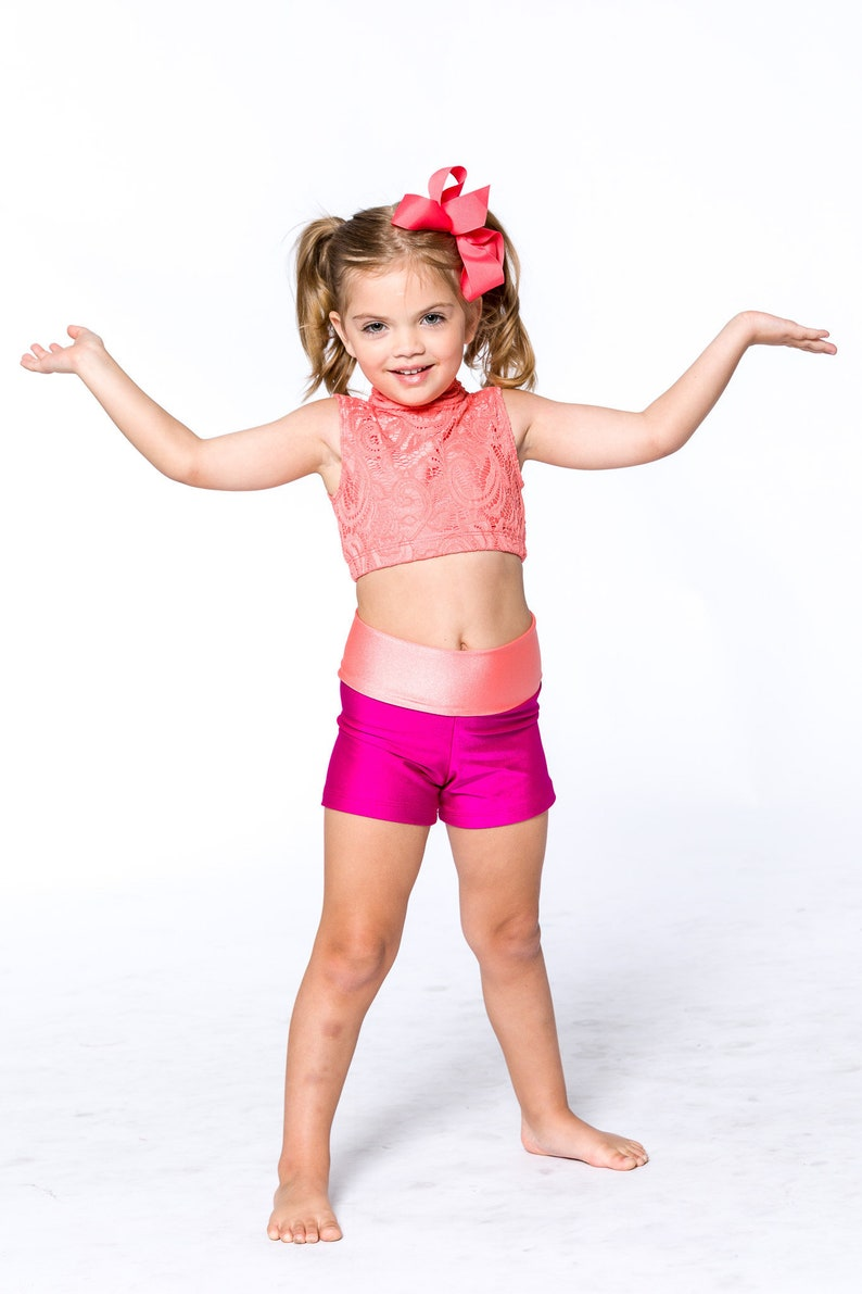 6780081f7de2 Tiny Dancer Presley Set Booty Shorts and Fitted High Neck
