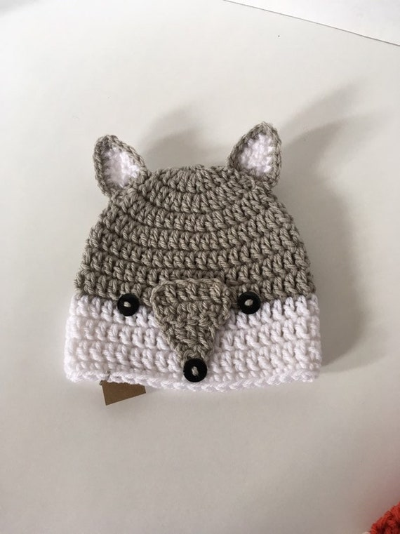Crochet Wolf Hat  560dba22f78