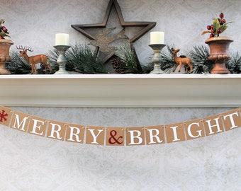 CHRISTMAS DECORATIONS, MERRY & BRlGHT, Christmas Banners, Christmas Card Photos
