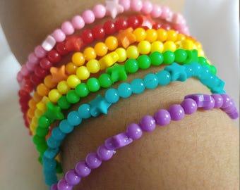 Rainbow Star Bracelet (Hooman Size)