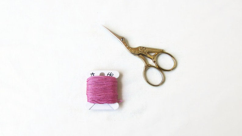 Anchor 66 pink embroidery thread stranded cotton floss for hand embroidery or cross stitch