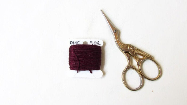 DMC Christmas Green 699 Cotton Floss 12 Twelve skeins 6 Strand Embroidery