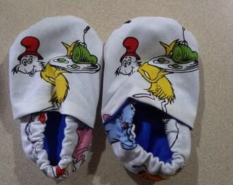 Dr. Suess crib shoes