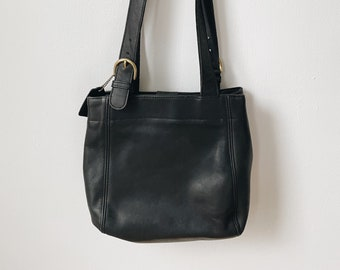 Vintage black coach bag