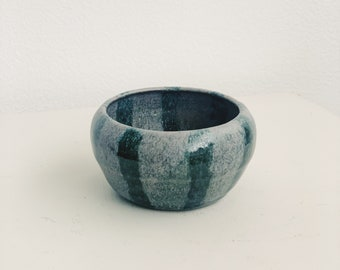 Vintage striped ceramic