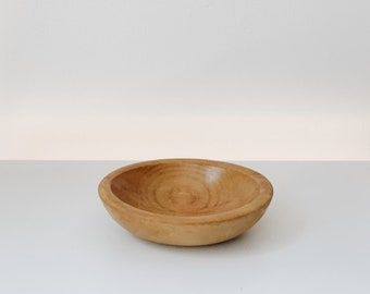 Vintage small wooden bowl