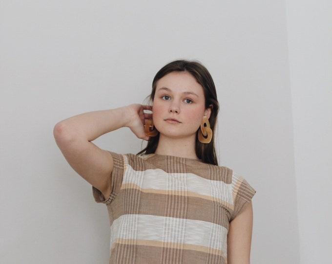 vintage cotton + linen blouse   Ace & Jig style blouse
