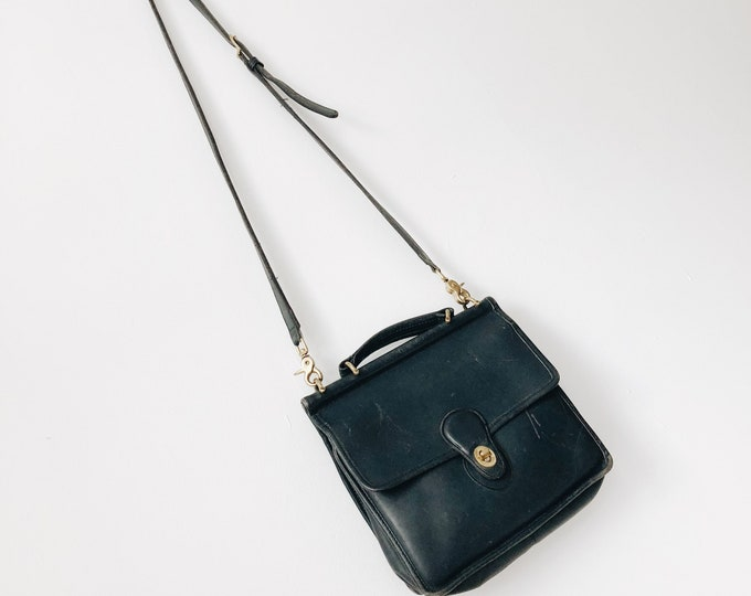 Vintage leather Wilson COACH PURSE